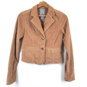 BB Dakota Jackets & Coats - BB Dakota Tan Corduroy Jacket